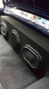 Audio sound system install