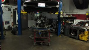 Corvette Engine Install