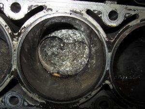 blown engine head