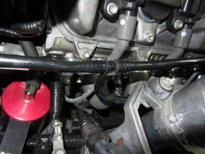 header tube install on corvette