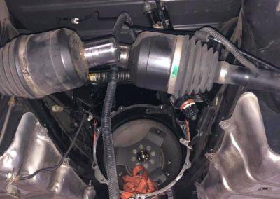 corvette axel repair