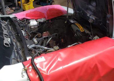 Corvette engine replacement