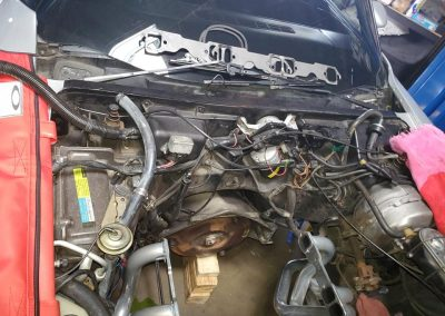 C3 engine removal