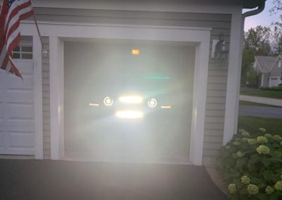 LED Bar install